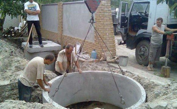 Как построить колодец из