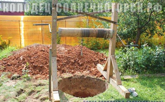 для строительства колодца
