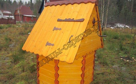 купить домики для колодцев