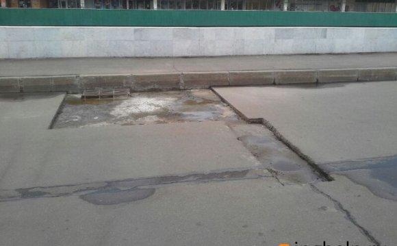 ремонт дождеприемной решетки